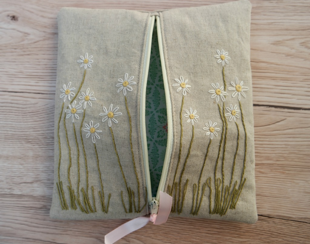 how to sew a pouch with a zip