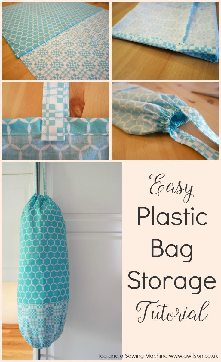 easy plastic bag storage holder tutorial