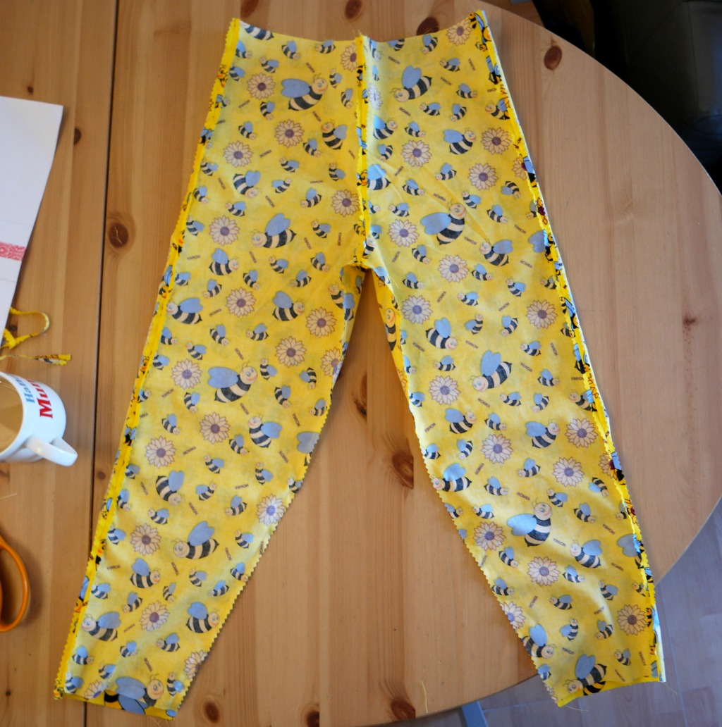 How to sew trousers from your own measurements from a pattern you made yourself