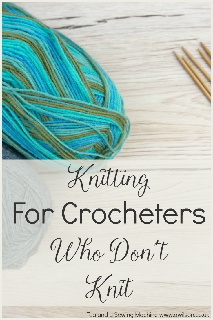 how to knit if you are a crocheter knitting for non knitters