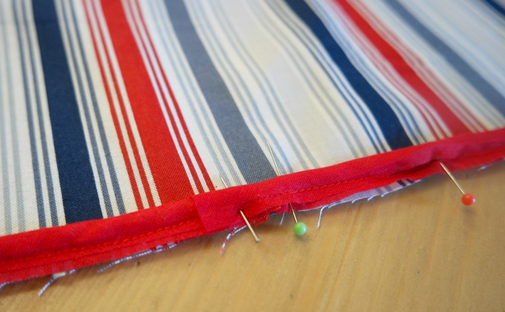 how to sew a cushion with a pocket