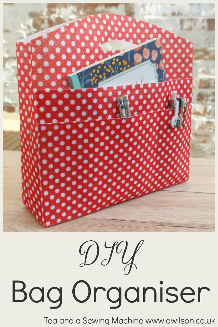 diy bag organiser