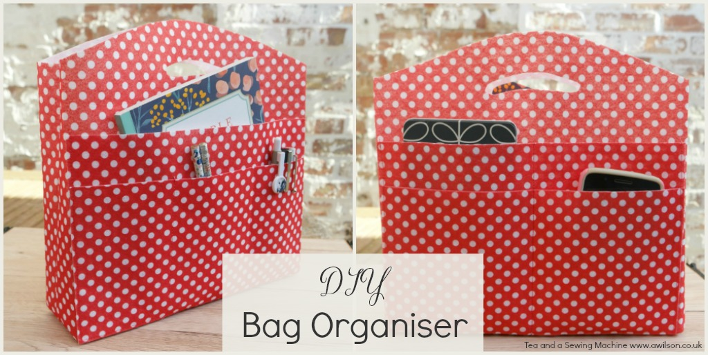 diy bag organiser
