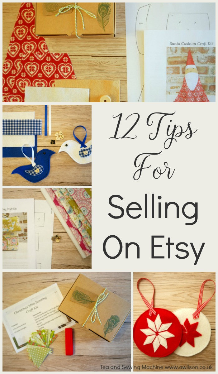 12 tips for selling on etsy