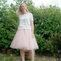 diy tulle circle skirt