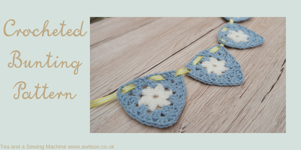 crocheted bunting pattern
