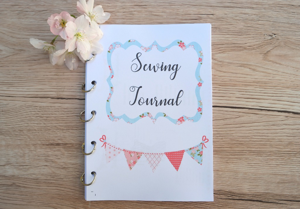 sewing journal bunting version