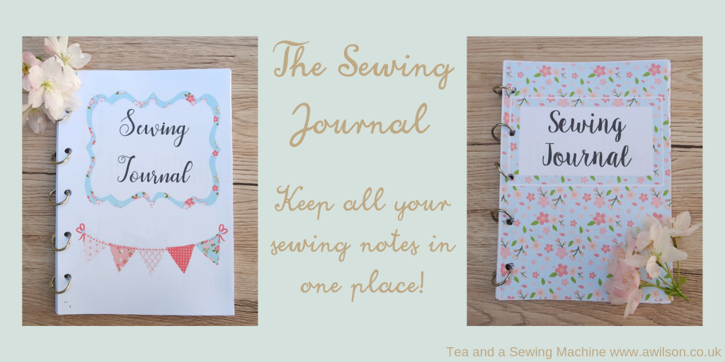sewing journal