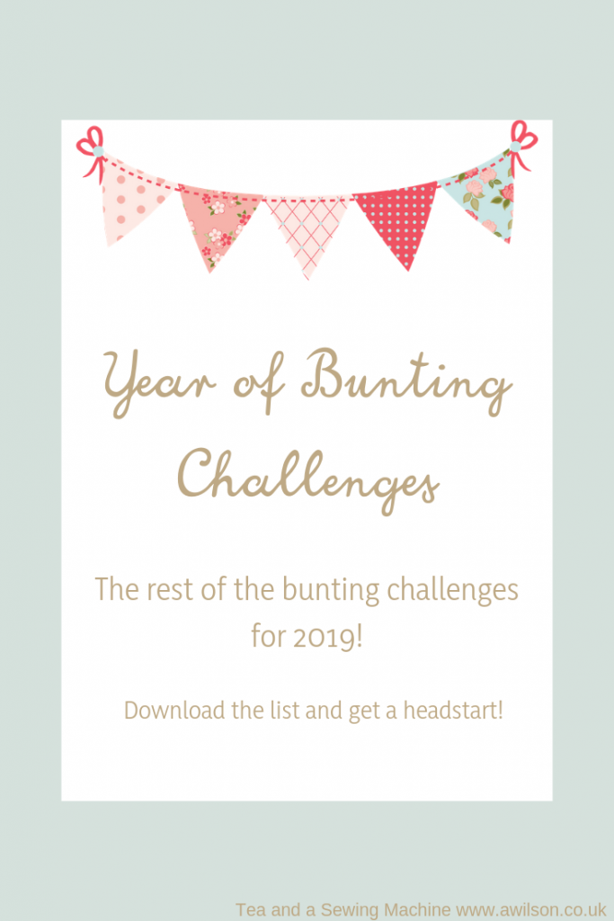 year of bunting challenges