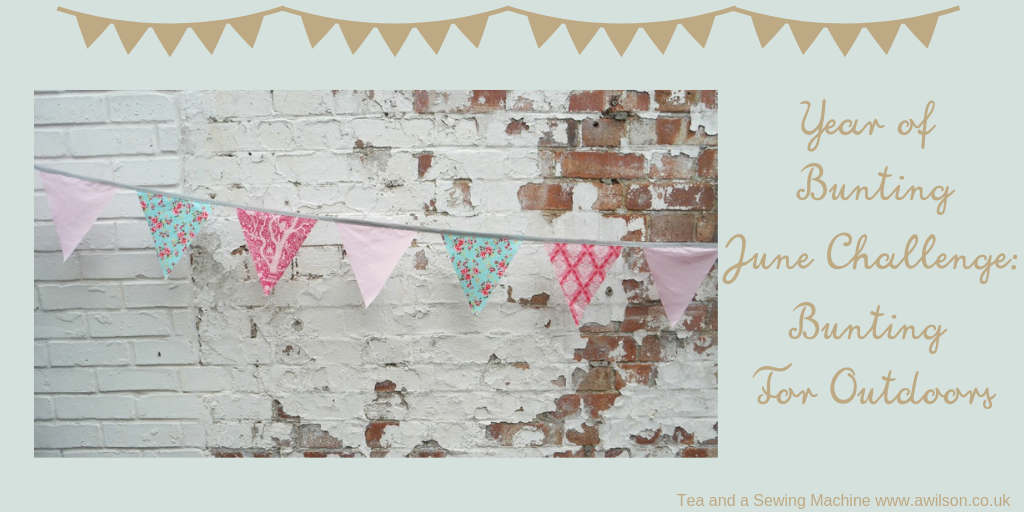 Year of bunting june challenge