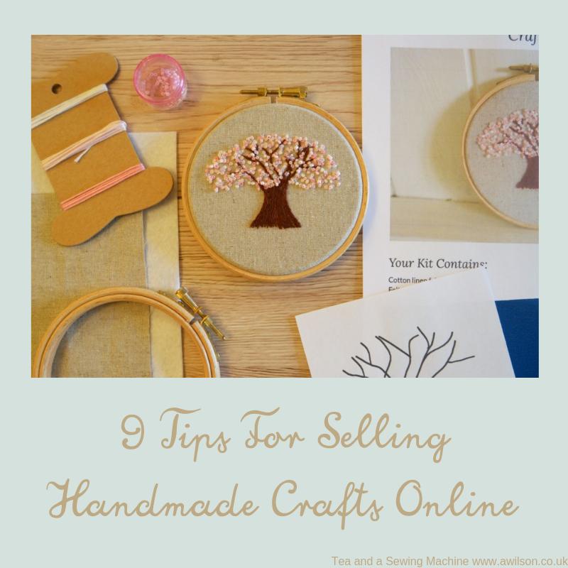 selling handmade crafts online
