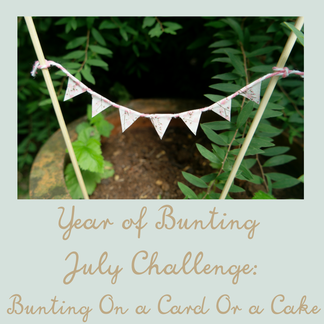 year of bunting july challenge