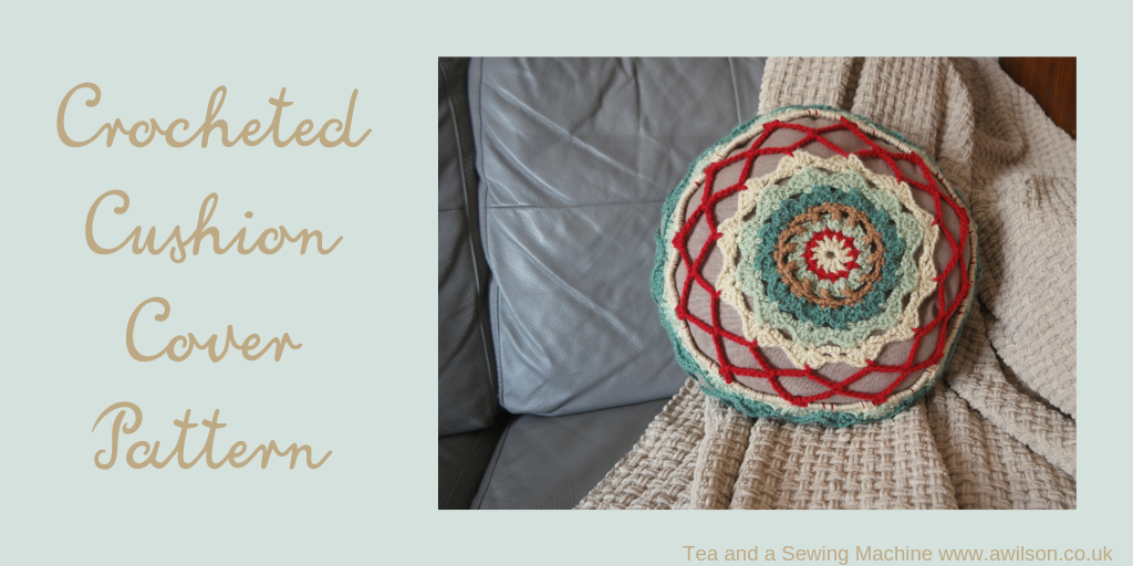 crocheted cushion cover patter