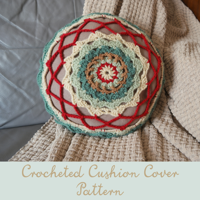 crocheted cushion cover pattern