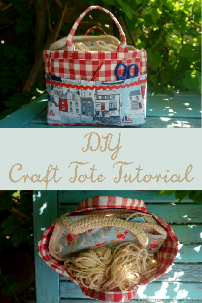 diy craft tote tutorial