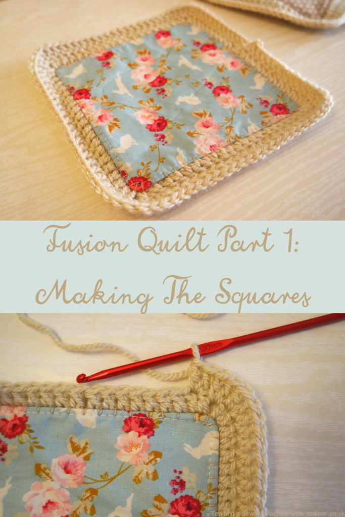 making a fusion quilt
