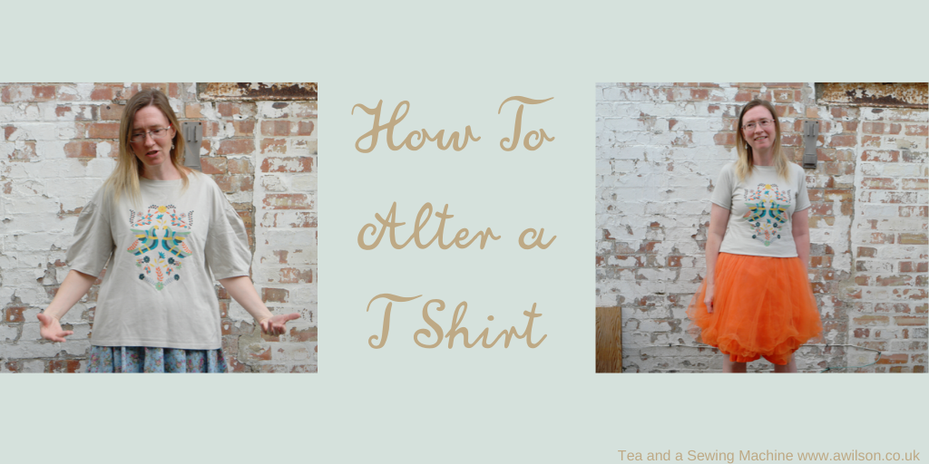 how to alter a t shirt