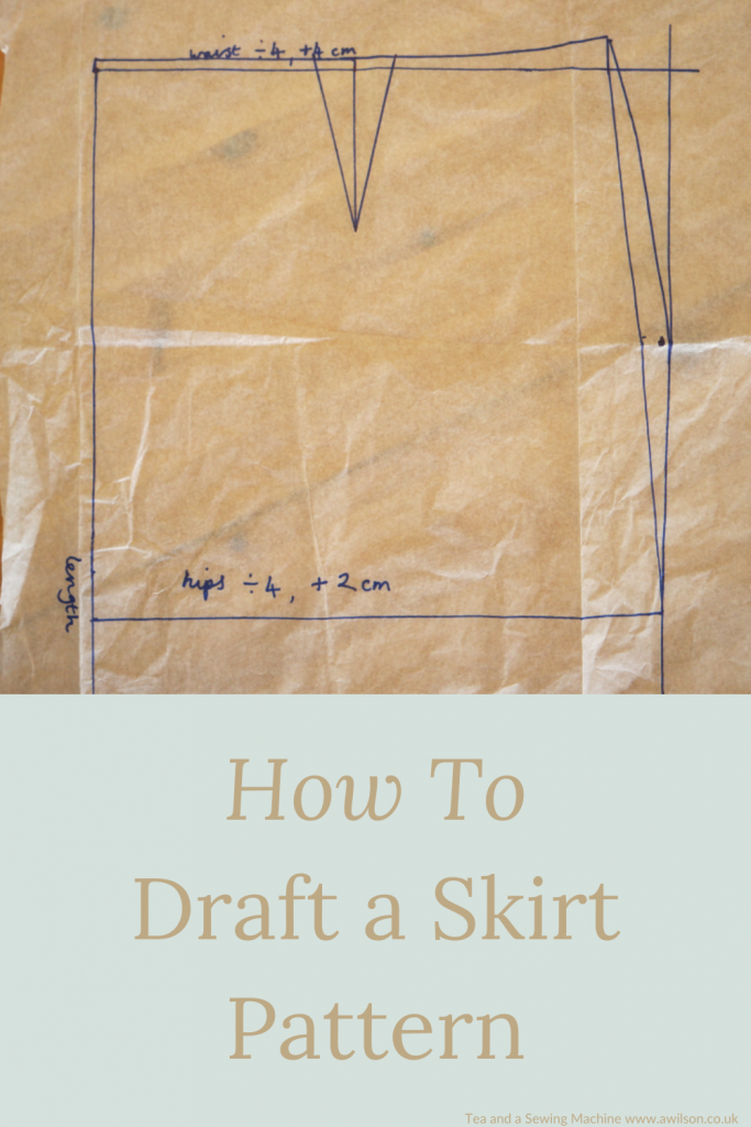 drafting a skirt pattern