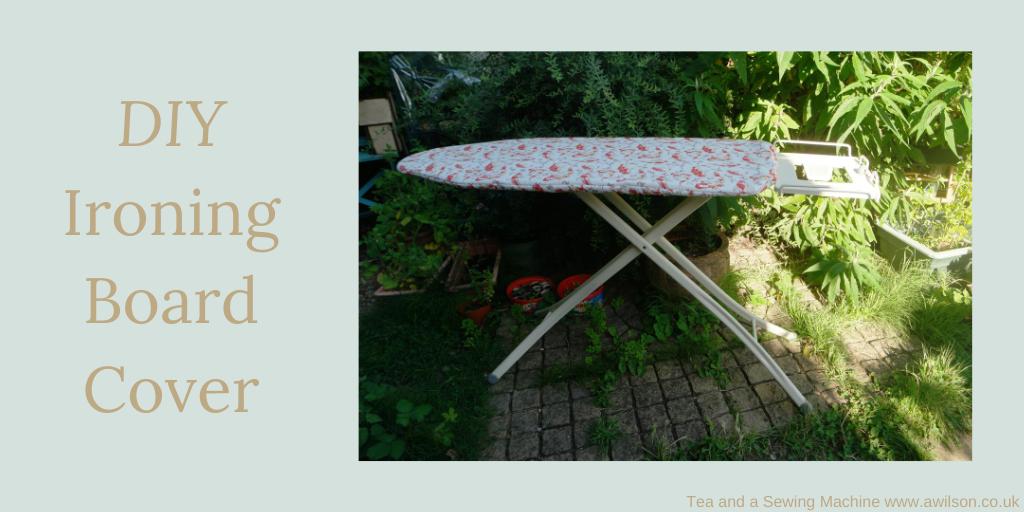 diy ironing board cover