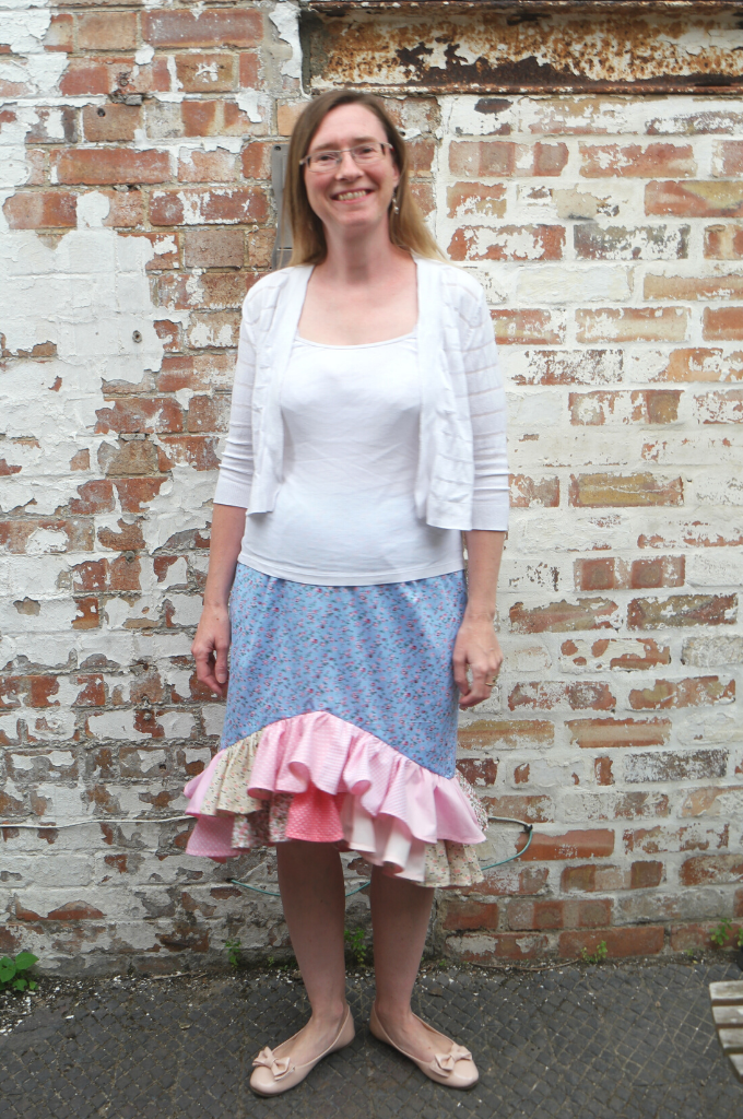 diy spanish style skirt