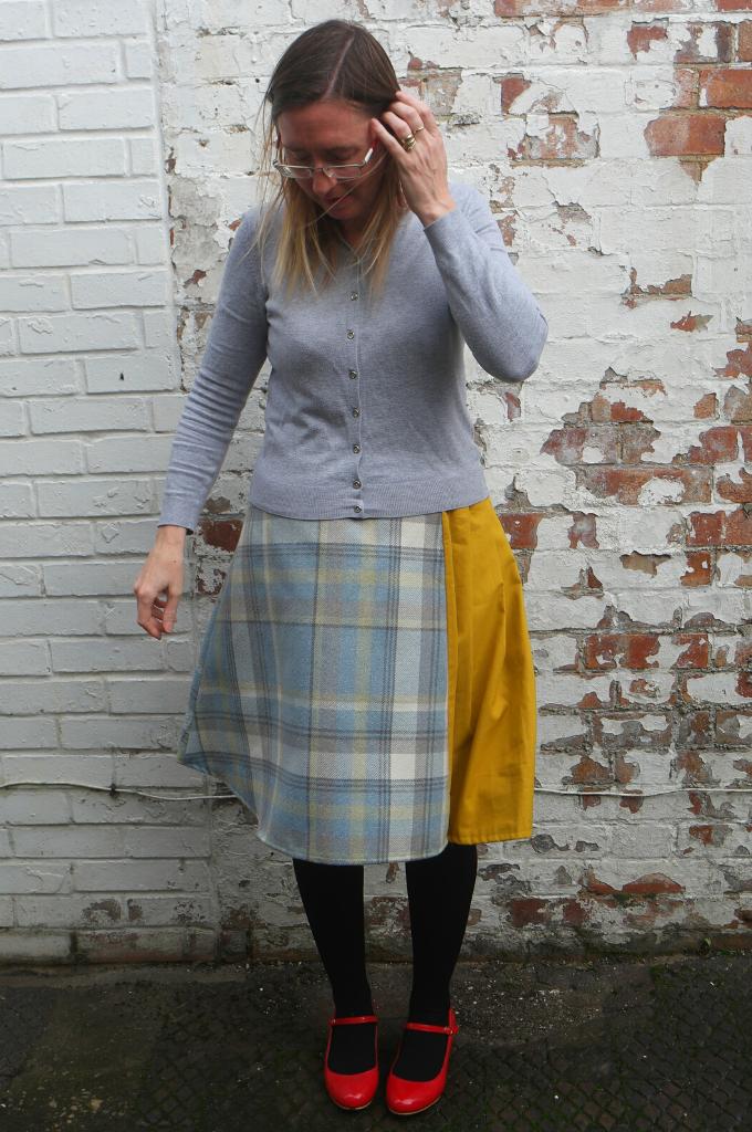 adapting an a line skirt