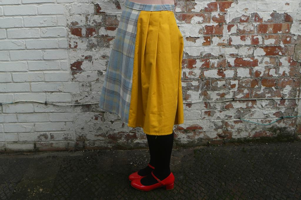 adapting an a line skirt pattern