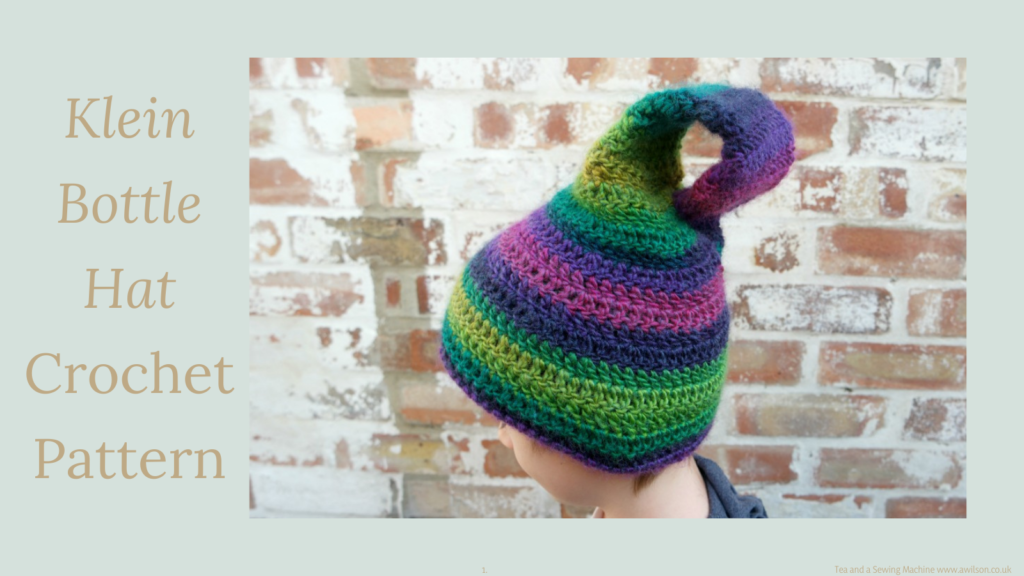 klein bottle hat crochet pattern