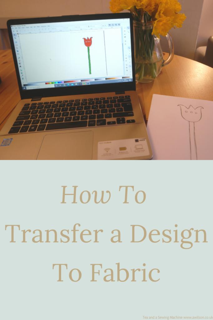 transfer a design to fabric