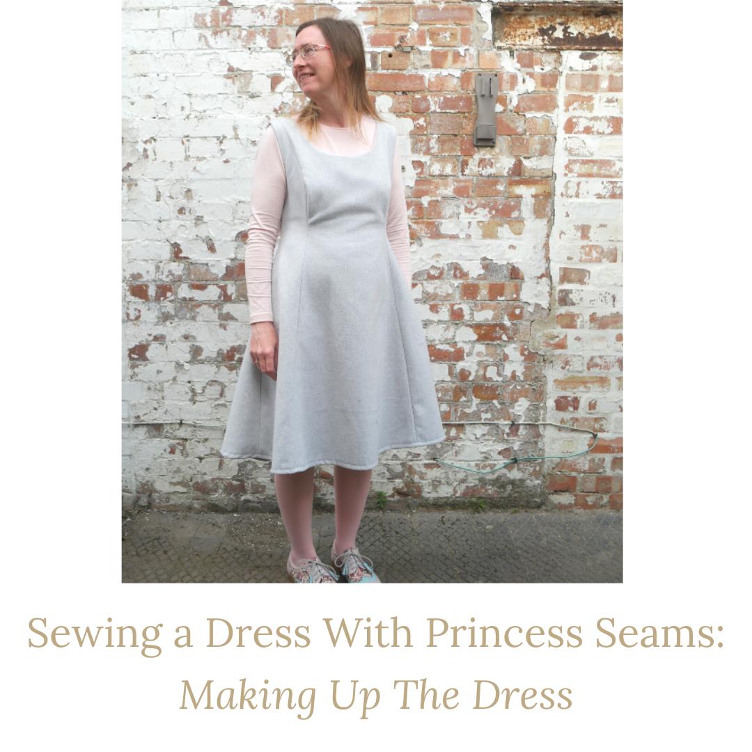 dress with princess seams