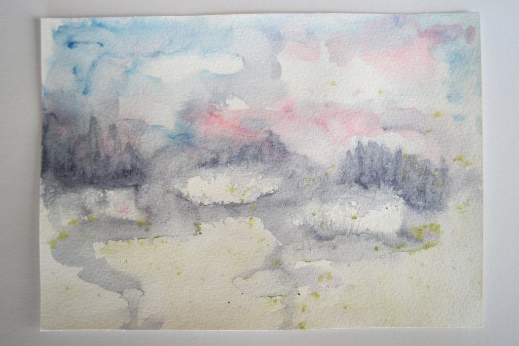 intuitive watercolour