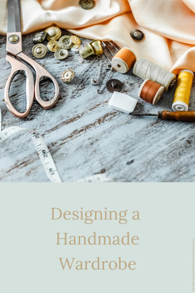 designing a handmade wardrobe long image