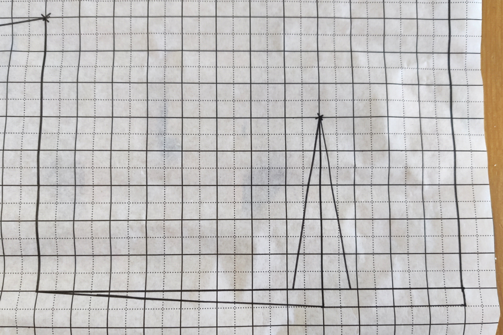 back bodice dart drafting a pattern