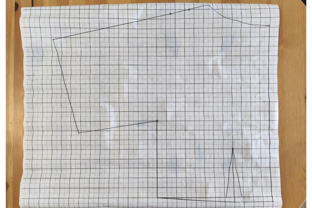 kimono dress drafting a pattern